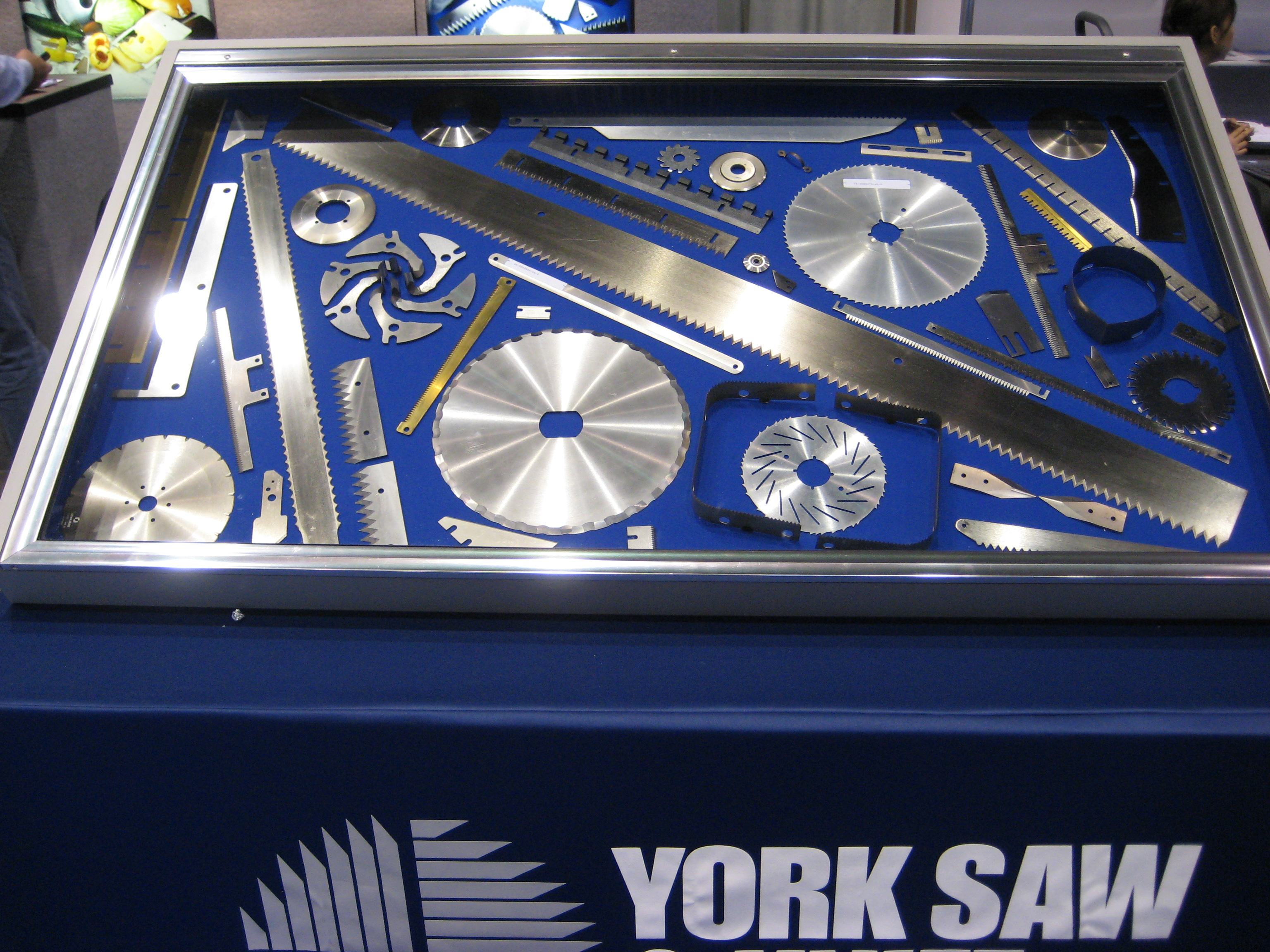 York Saw at Pack Expo