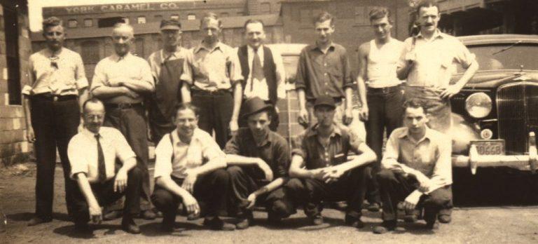 Early 1900s company photo