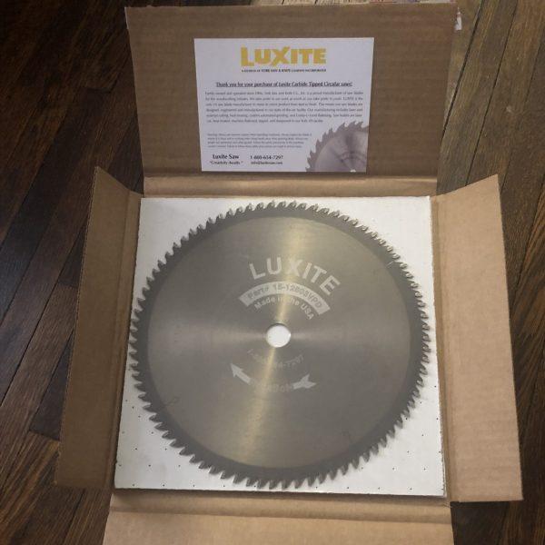 luxite crosscut blade in box