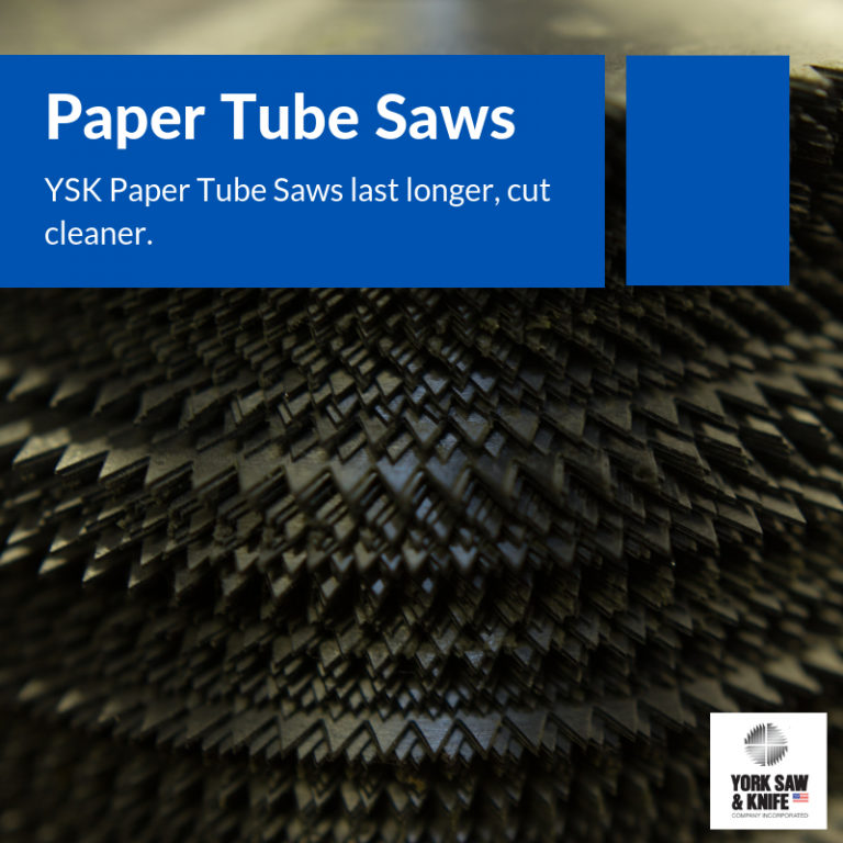 Paper tube saws