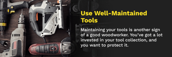 well maintained tools