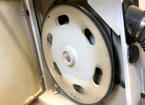 band saw tire installation