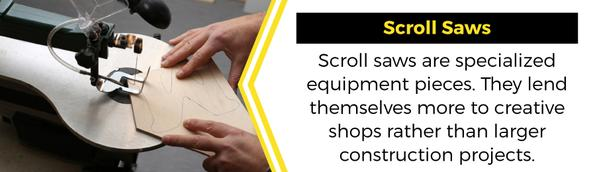 scroll saws
