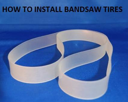 band saw tires