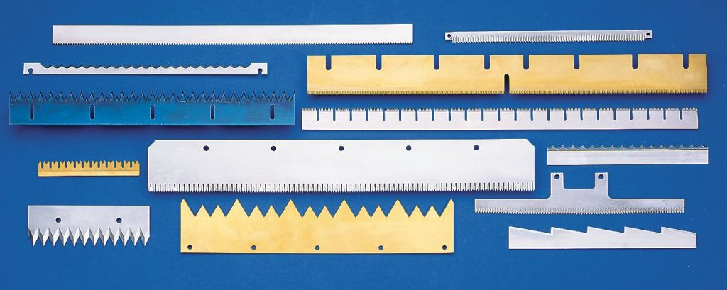 straight perforating knives