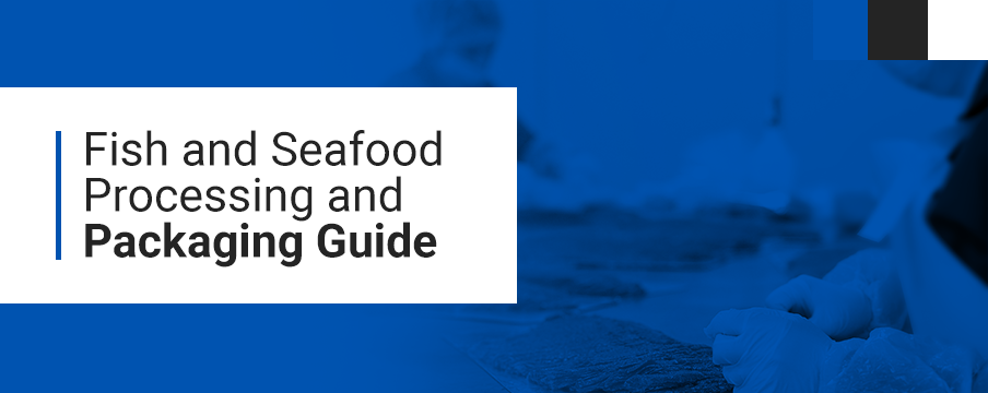 seafood and fish packaging and processing banner