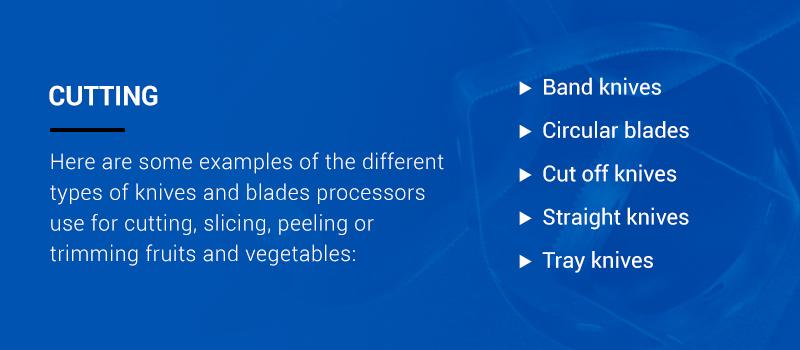 Industrial circular blades
